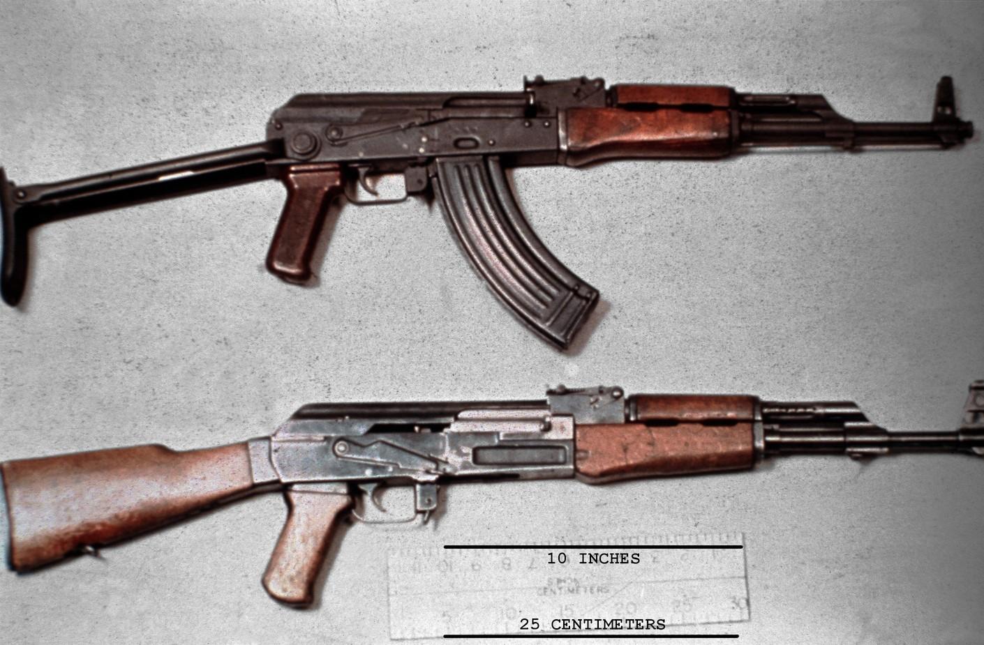 AK 47 and AKMS