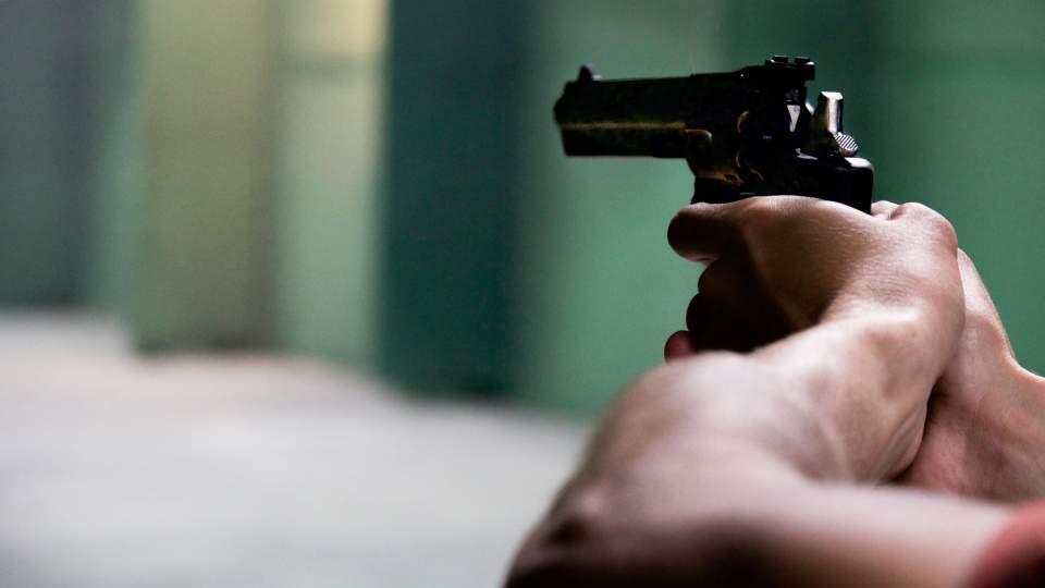 Submachine Gun-Pistol-Revolver Shooting